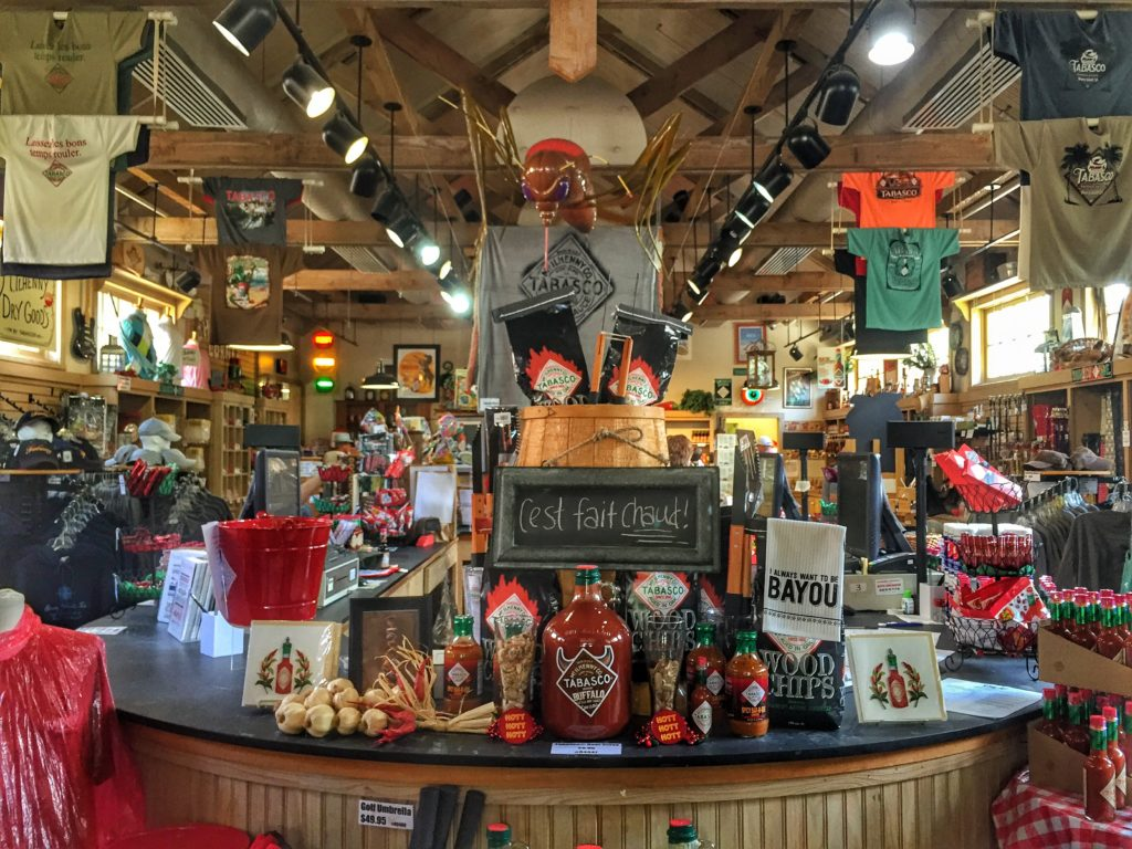 The Country Store Gift Shop at Tabasco Factory, Avery Island