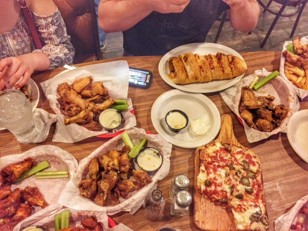 Monday Night Football Spread at Four Kegs