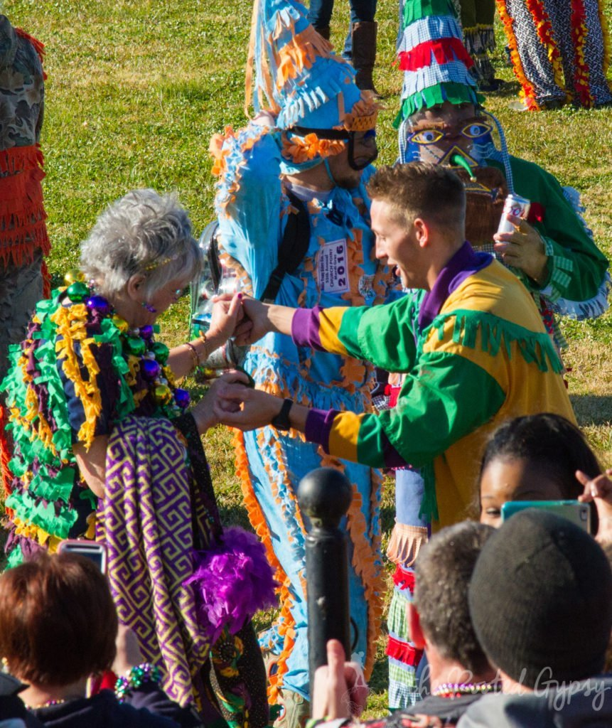 Mardi Gras Dancing to Zydeco