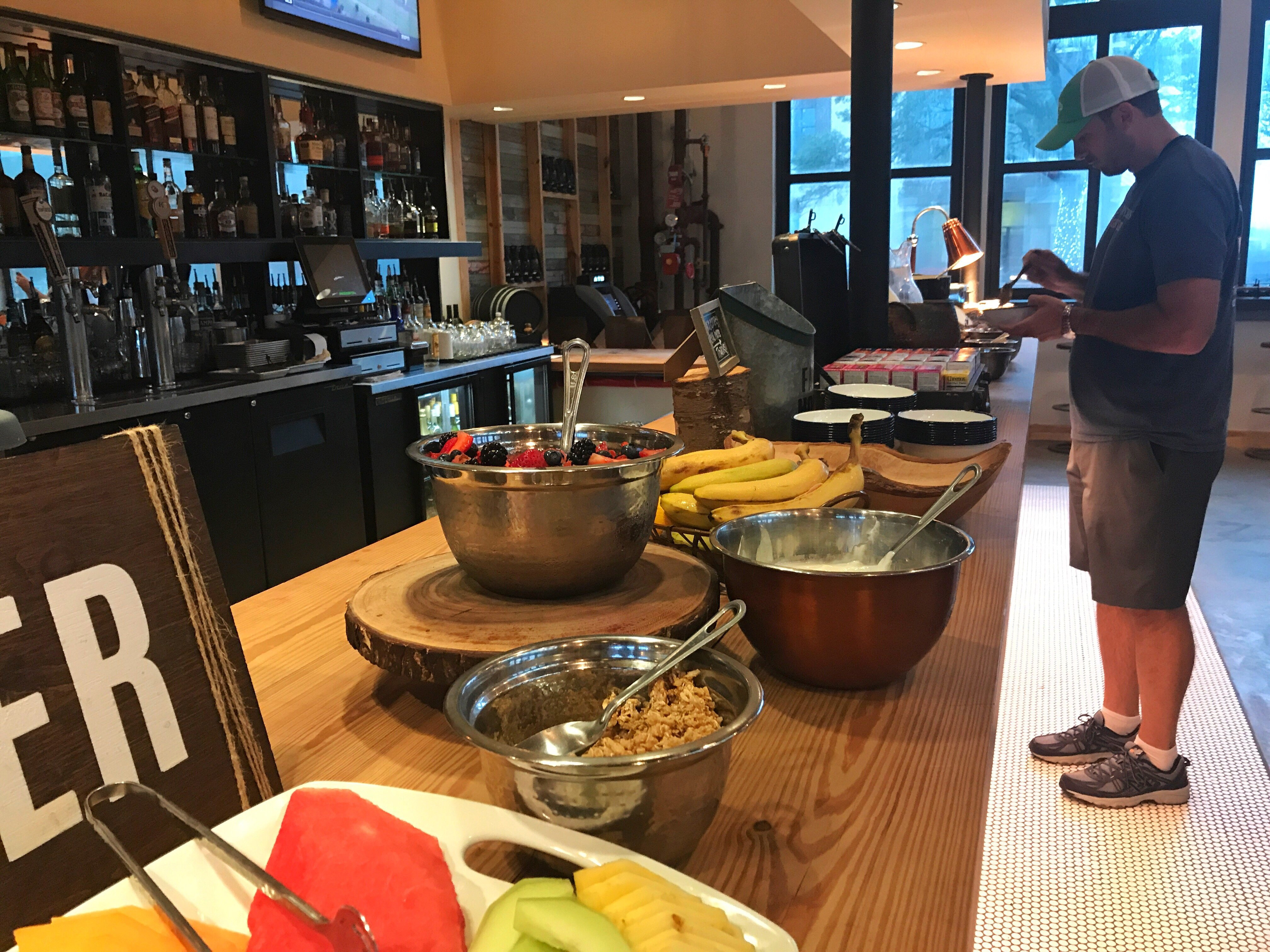 Breakfast at Cavalry Court's The Canteen