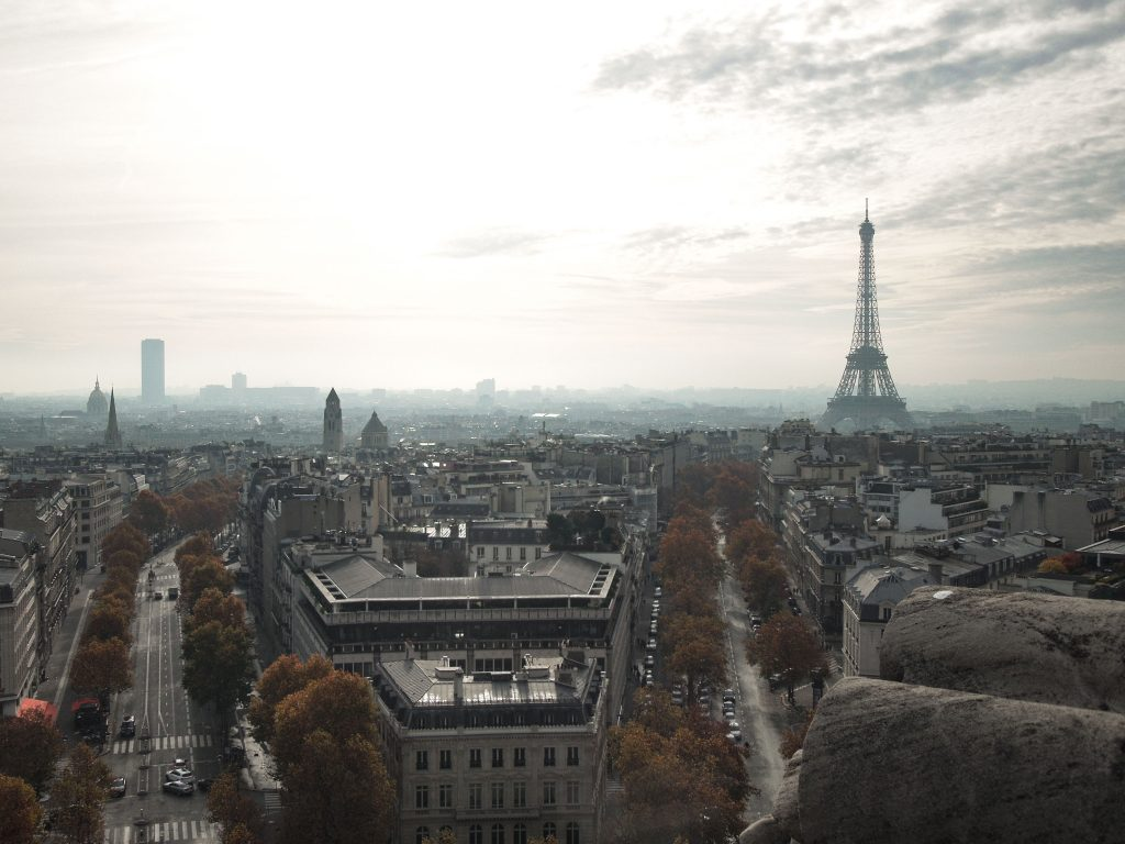 The View from the Arc de Triomphe